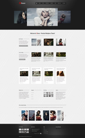 Silence Wordpress Theme - Roundabout Homepage by m-themes