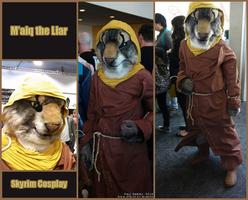 M'aiq the Liar cosplay by Silverbirch