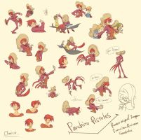 Assorted Panchito by chacckco