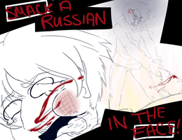 ++ APH:: SMACK A RUSSIAN by ephemeralDELUSiON