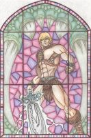 He-man, Master of the Universe by chrisjamesart