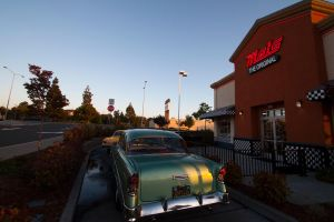 '56 Chevy at Mels by Doogle510