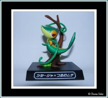 Snivy Waza Museum Figure by Ilona-the-Sinister