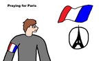Praying for Paris by blackevil915