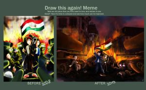 Meme  Before And After By Bampire - 1956 by lilalur
