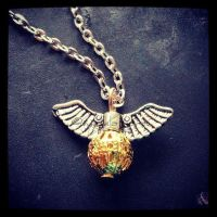Hand made Golden Snitch by mici-mimi