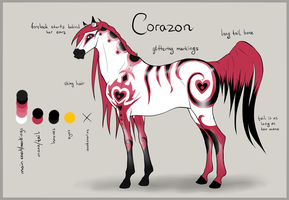 .Corazon - Ref Sheet. by Alvardy