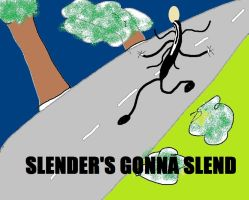 SLENDER'S GONNA SLEND by cogito-ergo-amo