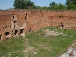 Remains of Dyb's Castle by Woolfred
