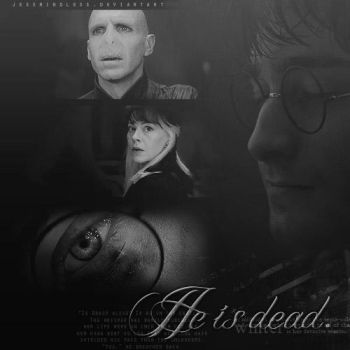 'He's Dead.' Deathly Hallows by JessMindless