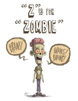 Z Is For Zombie by OtisFrampton