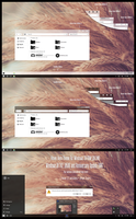 Hover Aero Theme Win10 Insider RS2 1703 by Cleodesktop