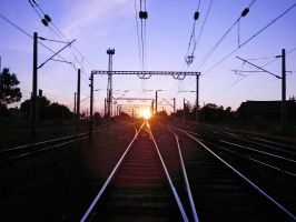 Sunset in Suceava by ranger2011