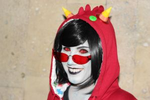 Namco High Terezi Cosplay by Sioxanne