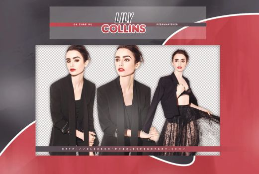 PACK PNG 26 // LILY COLLINS by ELISION-PNGS