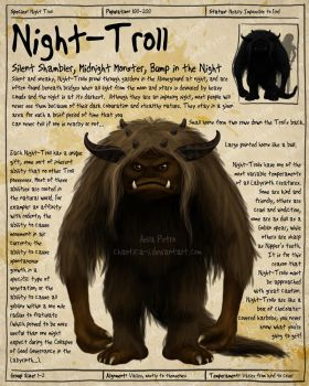 Labyrinth Guide - Night Troll by Chaotica-I