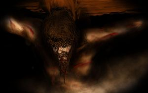 Jesus on The Cross by dtmccarson