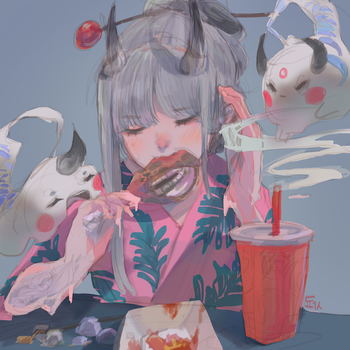 eating by dochanhee