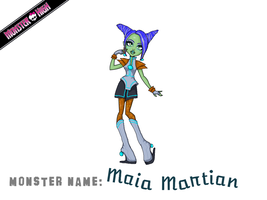 Maia Martian by curs