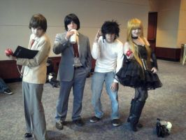 DEATH NOTE or Why I Love My Friends by christadaelia
