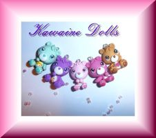 Vintage Care Bears by KawaineDolls