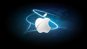 Apple Logo Wallpaper by thegamerpr0