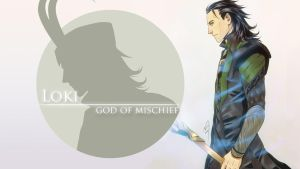 God of Mischief -wallpaper by Noiry