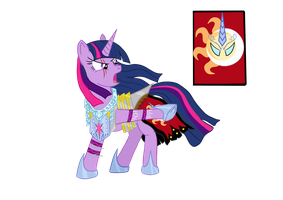 Twilight Sparkle TMS Vector by Bonaxor