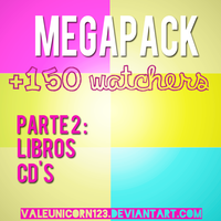 Megapack Awesome(? +150 watchers - Parte 2 by ValeUnicorn123