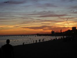 Southend at Sunset by MissSweeda