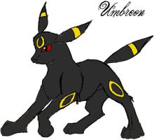 Umbreon by Whispered-Time