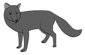 Fox/Canine base [free] by dragonghost-adopts