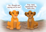 Simba and Leah by TC-96