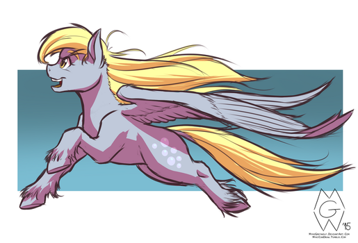 Stream Request: Derpy Hooves by MykeGreywolf