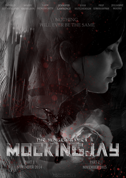 The Hunger Games: Mockingjay Poster by hoodree