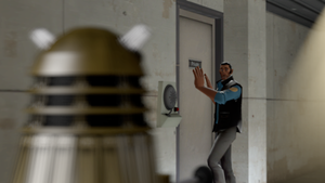 [SFM] The Ninth Doctor Confronts a Dalek by MrGargo