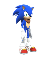 Sonic the Dudehog by Cyberphonic4D
