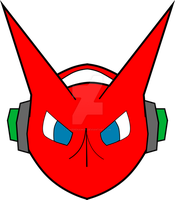 Shoutmon Minimalista by LoveRenamon