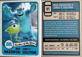 Rookie Card Mike and Sulley by dlee1293847