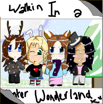 Chillin in a winter wonderland by twisted-bunnies