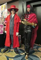 Vincent and Alucard Shadocon 2012 by Metallica005