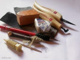 Wood working tools for tute by myceliae