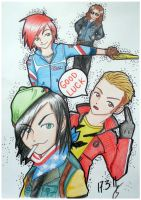 The Fabulous Killjoys .Colored by Susutastic