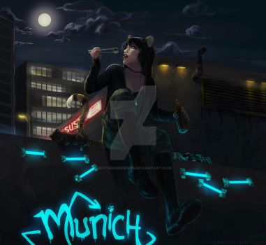 Munich - Full colour by emo perp by RiftwingDesigns
