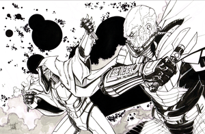 Darth Malgus and Sith Acolytes Inks by Hodges-Art