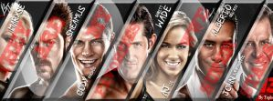 They're My Favorites WWE Superstars by Tapla