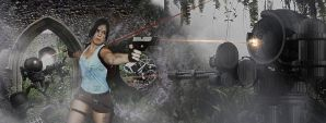 Tomb Raider: Jungle Fighter by BigA-nt