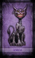 Madness Returns Tarot :: Cheshire Cat (WIP) by Vanyanie