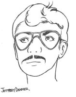 Jeffrey Dahmer by electricsorbet