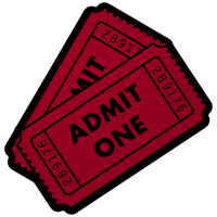 Movie Ticket Dock Icon by kaboom88